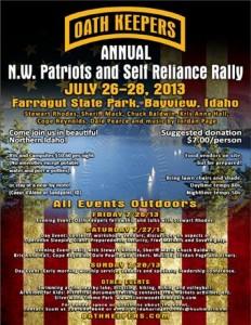 Patriot Self Reliance Rally