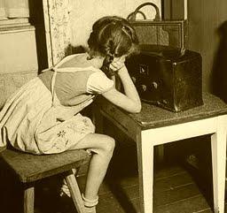 Girl At Radio