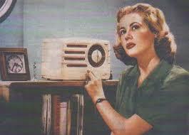 Old Radio_Blonde Woman