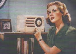 Old Radio_Blonde Woman