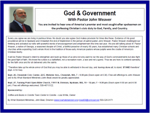 PastorWeaver