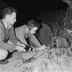 Old Radio - Partisans in the Field