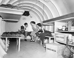 Old Radio_Family in Bunker
