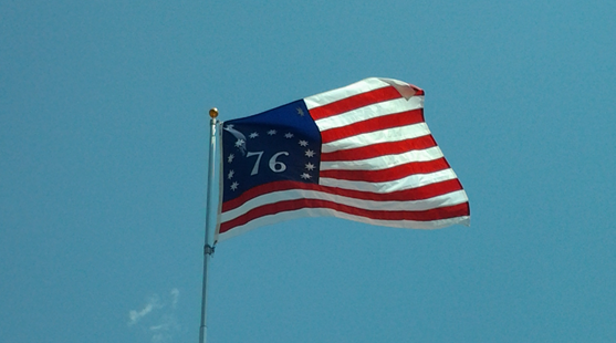 American Flag - 76