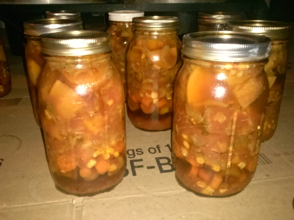 jars out of canner